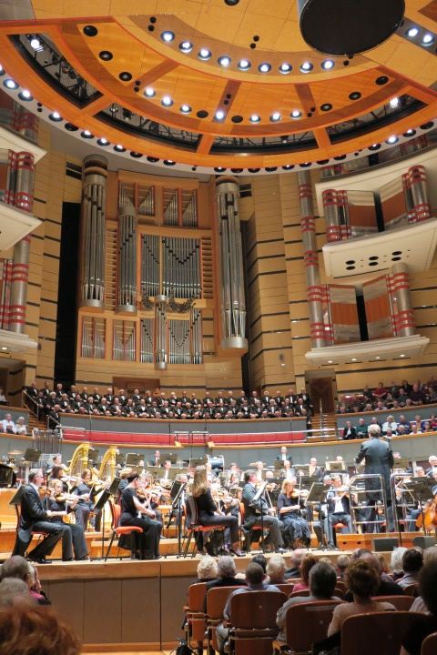 Birmingham Symphony Hall 2016 :: Morriston Orpheus Choir